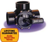 Jandy NeverLube Valves